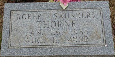 THORNE, ROBERT SAUNDERS - Colbert County, Alabama | ROBERT SAUNDERS THORNE - Alabama Gravestone Photos