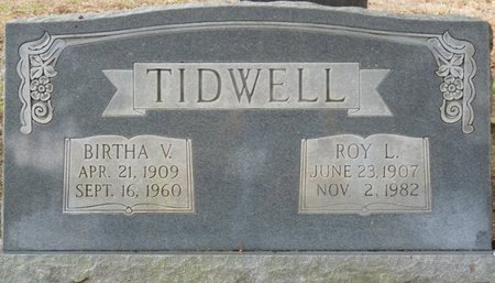 TIDWELL, BIRTHA V - Colbert County, Alabama | BIRTHA V TIDWELL - Alabama Gravestone Photos