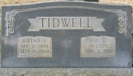 TIDWELL, ROY L - Colbert County, Alabama | ROY L TIDWELL - Alabama Gravestone Photos
