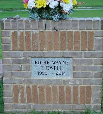 TIDWELL, EDDIE WAYNE - Colbert County, Alabama   EDDIE WAYNE TIDWELL - Alabama Gravestone Photos