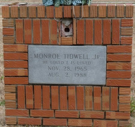 TIDWELL JR., NOAH MONROE - Colbert County, Alabama | NOAH MONROE TIDWELL JR. - Alabama Gravestone Photos
