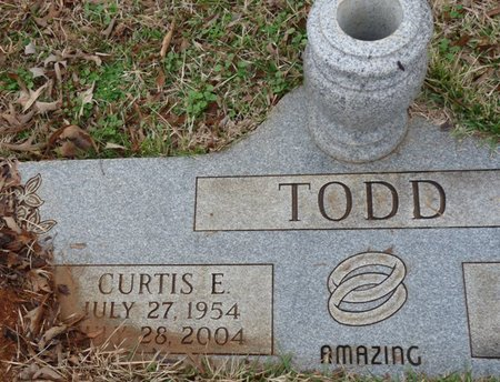 TODD, CURTIS E - Colbert County, Alabama | CURTIS E TODD - Alabama Gravestone Photos