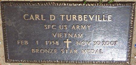 TURBEVILLE (VETERAN VIET), CARL D - Colbert County, Alabama | CARL D TURBEVILLE (VETERAN VIET) - Alabama Gravestone Photos