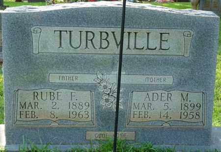 TURBVILLE, RUBE F - Colbert County, Alabama | RUBE F TURBVILLE - Alabama Gravestone Photos