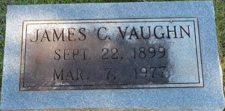 VAUGHN, JAMES C - Colbert County, Alabama | JAMES C VAUGHN - Alabama Gravestone Photos
