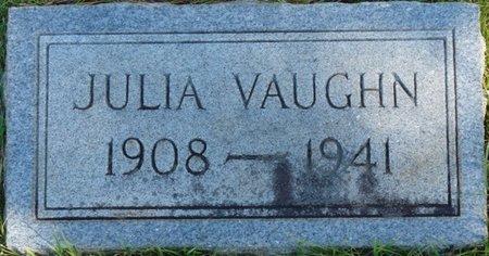 VAUGHN, JULIA - Colbert County, Alabama   JULIA VAUGHN - Alabama Gravestone Photos