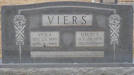 VIERS JR., DAVID SALSBURY - Colbert County, Alabama   DAVID SALSBURY VIERS JR. - Alabama Gravestone Photos