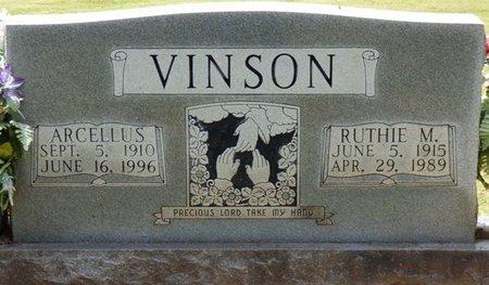 VINSON, RUTHIE MAE - Colbert County, Alabama | RUTHIE MAE VINSON - Alabama Gravestone Photos