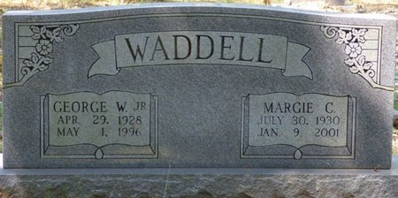 """WADDELL JR., GEORGE W """"LITTLE RED"""" - Colbert County, Alabama   GEORGE W """"LITTLE RED"""" WADDELL JR. - Alabama Gravestone Photos"""