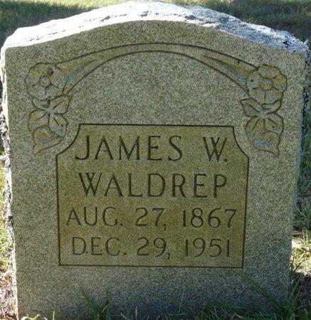 WALDREP, JAMES W - Colbert County, Alabama | JAMES W WALDREP - Alabama Gravestone Photos