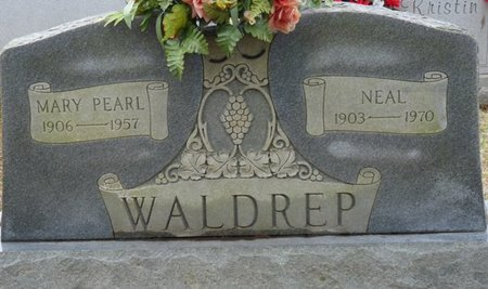 WALDREP, MARY PEARL - Colbert County, Alabama | MARY PEARL WALDREP - Alabama Gravestone Photos