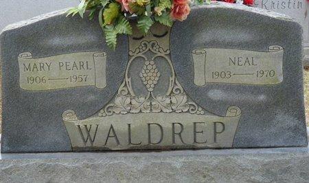THOMPSON WALDREP, MARY PEARL - Colbert County, Alabama | MARY PEARL THOMPSON WALDREP - Alabama Gravestone Photos