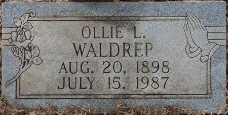 HOLT WALDREP, OLLIE LEONA - Colbert County, Alabama | OLLIE LEONA HOLT WALDREP - Alabama Gravestone Photos