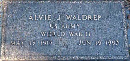 WALDREP (VETERAN WWII), ALVIE J - Colbert County, Alabama | ALVIE J WALDREP (VETERAN WWII) - Alabama Gravestone Photos