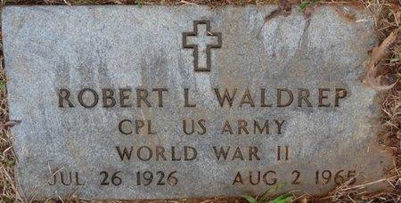 WALDREP (VETERAN WWII), ROBERT LLOYD - Colbert County, Alabama | ROBERT LLOYD WALDREP (VETERAN WWII) - Alabama Gravestone Photos