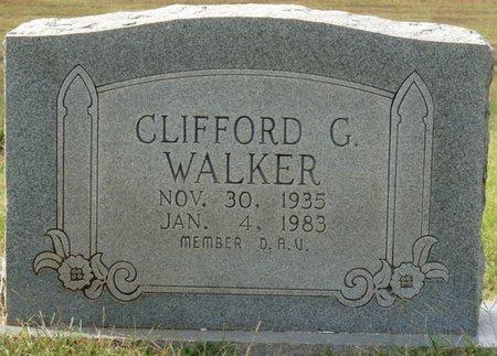 WALKER, CLIFFORD G - Colbert County, Alabama | CLIFFORD G WALKER - Alabama Gravestone Photos