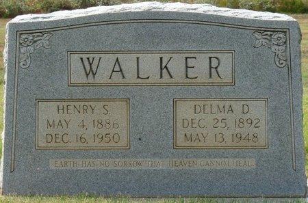 WALKER, HENRY S - Colbert County, Alabama | HENRY S WALKER - Alabama Gravestone Photos