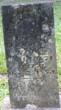 WALKER, MATTIE L - Colbert County, Alabama   MATTIE L WALKER - Alabama Gravestone Photos