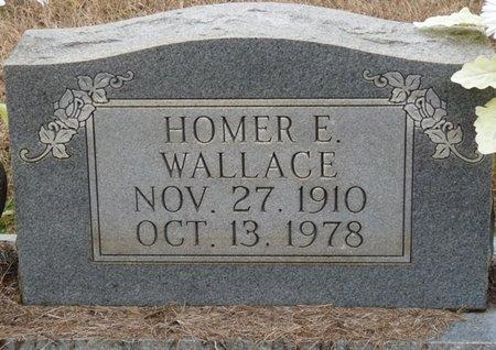 WALLACE, HOMER E - Colbert County, Alabama | HOMER E WALLACE - Alabama Gravestone Photos