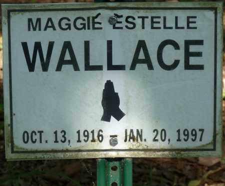 WALLACE, MAGGIE ESTELLE - Colbert County, Alabama | MAGGIE ESTELLE WALLACE - Alabama Gravestone Photos