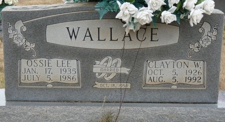 WALLACE, CLAYTON WILLIAM - Colbert County, Alabama | CLAYTON WILLIAM WALLACE - Alabama Gravestone Photos