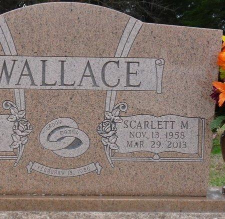 WALLACE, SCARLETT MARETTA - Colbert County, Alabama   SCARLETT MARETTA WALLACE - Alabama Gravestone Photos