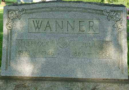 WANNER, JULIUS - Colbert County, Alabama | JULIUS WANNER - Alabama Gravestone Photos