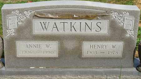 WATKINS, ANNIE W - Colbert County, Alabama | ANNIE W WATKINS - Alabama Gravestone Photos
