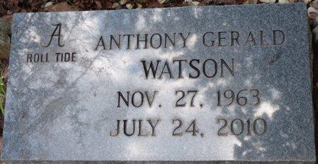 WATSON, ANTHONY GERALD - Colbert County, Alabama | ANTHONY GERALD WATSON - Alabama Gravestone Photos