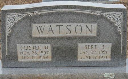 WATSON, BERT ROSS - Colbert County, Alabama | BERT ROSS WATSON - Alabama Gravestone Photos