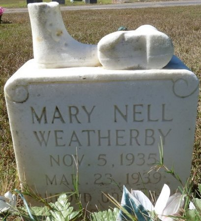 WEATHERBY, MARY NELL - Colbert County, Alabama   MARY NELL WEATHERBY - Alabama Gravestone Photos