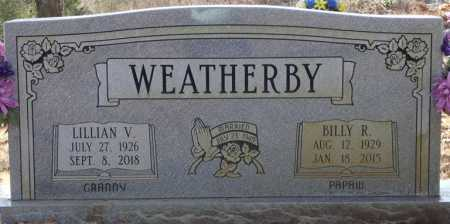 """WEATHERBY, WILLIAM R """"BILLY"""" - Colbert County, Alabama 