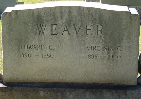 WEAVER, EDWARD G - Colbert County, Alabama | EDWARD G WEAVER - Alabama Gravestone Photos