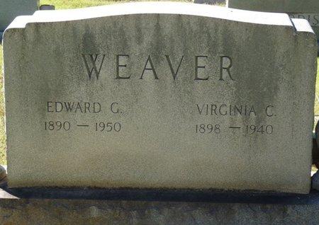 WEAVER, VIRGINIA C - Colbert County, Alabama | VIRGINIA C WEAVER - Alabama Gravestone Photos