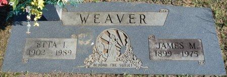 WEAVER, ETTA I - Colbert County, Alabama | ETTA I WEAVER - Alabama Gravestone Photos