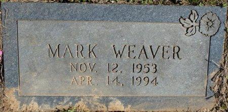 WEAVER, MARK - Colbert County, Alabama   MARK WEAVER - Alabama Gravestone Photos