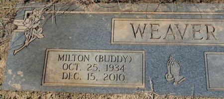 "WEAVER, MILTON ""BUDDY"" - Colbert County, Alabama | MILTON ""BUDDY"" WEAVER - Alabama Gravestone Photos"