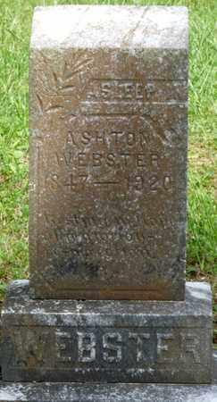 WEBSTER, ASHTON - Colbert County, Alabama   ASHTON WEBSTER - Alabama Gravestone Photos