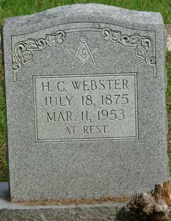 WEBSTER, H.C. - Colbert County, Alabama   H.C. WEBSTER - Alabama Gravestone Photos