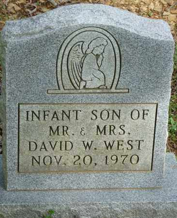 WEST, INFANT SON - Colbert County, Alabama   INFANT SON WEST - Alabama Gravestone Photos