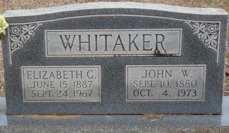 WHITAKER, ELIZABETH - Colbert County, Alabama | ELIZABETH WHITAKER - Alabama Gravestone Photos
