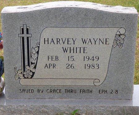 WHITE, HARVEY WAYNE - Colbert County, Alabama | HARVEY WAYNE WHITE - Alabama Gravestone Photos