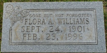 WILLIAMS, FLORA A - Colbert County, Alabama | FLORA A WILLIAMS - Alabama Gravestone Photos