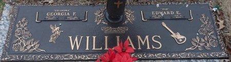 WILLIAMS, GEORGIA FAYE - Colbert County, Alabama   GEORGIA FAYE WILLIAMS - Alabama Gravestone Photos