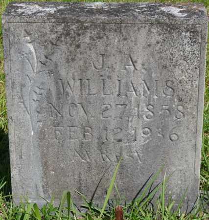 WILLIAMS, J.A. - Colbert County, Alabama | J.A. WILLIAMS - Alabama Gravestone Photos