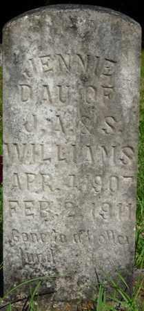 WILLIAMS, JENNIE - Colbert County, Alabama | JENNIE WILLIAMS - Alabama Gravestone Photos