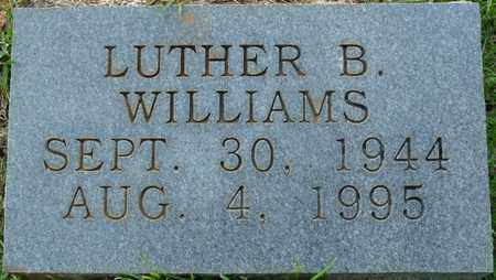 WILLIAMS, LUTHER B - Colbert County, Alabama | LUTHER B WILLIAMS - Alabama Gravestone Photos
