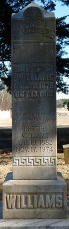 WILLIAMS, BESSIE - Colbert County, Alabama | BESSIE WILLIAMS - Alabama Gravestone Photos