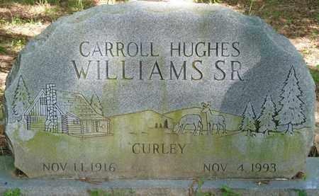 "WILLIAMS SR., CARROLL HUGHES ""CURLEY"" - Colbert County, Alabama | CARROLL HUGHES ""CURLEY"" WILLIAMS SR. - Alabama Gravestone Photos"
