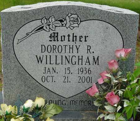 WILLINGHAM, DOROTHY R - Colbert County, Alabama | DOROTHY R WILLINGHAM - Alabama Gravestone Photos